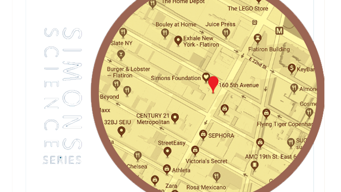 Map of Simons at 5th Avenue