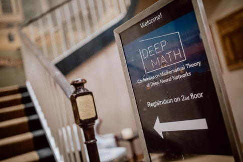 DEEP MATH - Conference on Mathematical Theory of Deep Neural Networks - October 31 -November 1, 2019 - Princeton Club, New York, NY - Photo: Ben Gierig